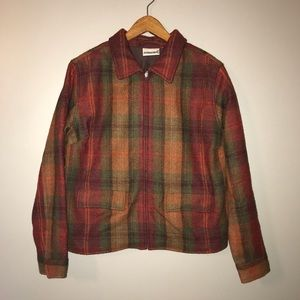 Faction Bug Woman's Size M Jacket Wool blend Red